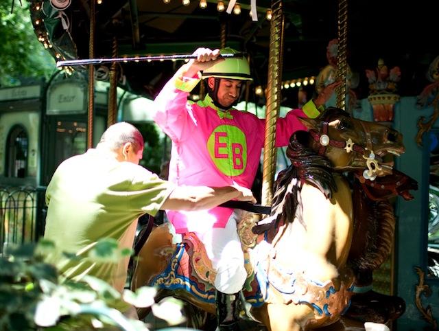 Carousel Horse Race - Improv Everywhere