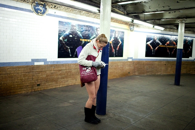 No Pants Subway Ride 2011