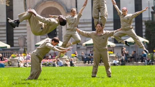 Groundskeeper Acrobats